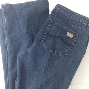 Michael Kors Jeans Bootcut Back Pocket Silver ID
